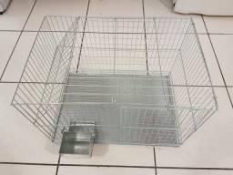 Gaiola para coelhos, chinchilas e outros roedores