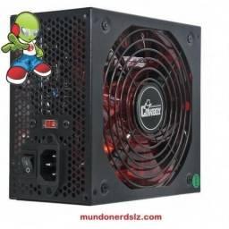Fonte De Alimentacao 600w Real Gamer 24p Atx Knup em São Luís MA