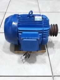 Motor wag 10 cv 220/ 380 trifásico - 3480 RPM !!! oportunidade !!!