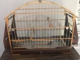 Vendo gaiola Sabia/trinca ferro ou pássaros grandes