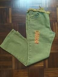 Calça Jeans - N 40 - Nova