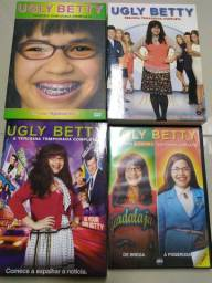 DVD's Seriado Ugly Betty - 1ª a 4ª Temporadas (completo)