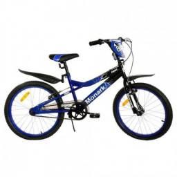 Bicicleta Monark Bmx Ranger Aro 20 Preto Azul - UN