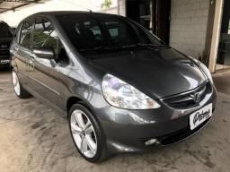 Honda Fit 1.5 ex aut, + central multimidia, rodas 17' novo - 2008
