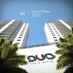 Invista com rentabilidade! Apto com 3 quartos - Duo Praia Brava Construtora Ck