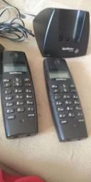 Dois Telefones sem fio Intelbras(leia o anúncio )