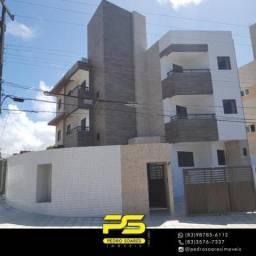Apartamento com 2 dormitórios à venda, 50 m² por R$ 175.000,00 - Castelo Branco - João Pes