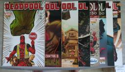 Combo HQ Deadpool nº 01 ate 16