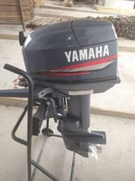Motor Yamaha 2013 25hp com nota fiscal