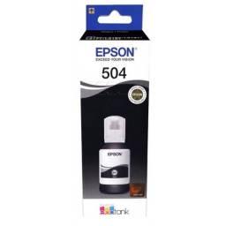 Tinta Original Epson EcoTank 504 Preto - T504120 127 ml