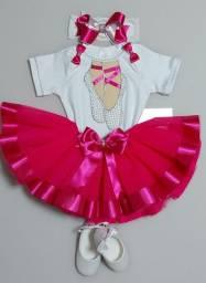 Roupa bailarina para bebê