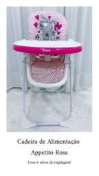 Cadeira de Alimentação Appetito Rosa