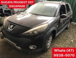 Peugeot 207 Sucata para peças