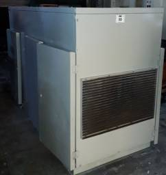 Compressor de ar de parafuso - Atlascop - GA707