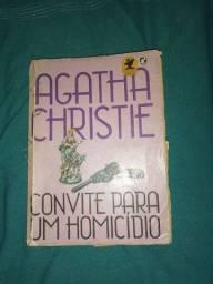 Livro Convite Para Um Homicídio - Agatha Christie  usado