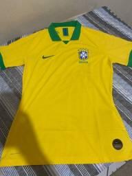 Camisa seleção brasileira (jogador) TAM. G copa América 2019