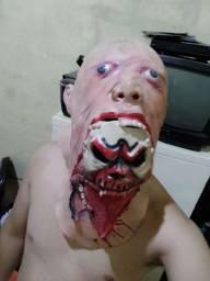 Máscara Halloween de Silicone
