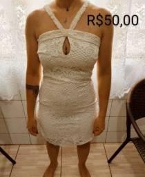 Vestido branco, P
