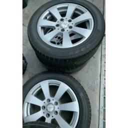 Aro e pneus 16 com 5 furos