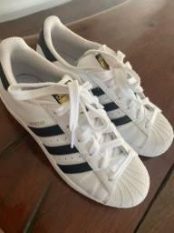 Vendo tênis adidas superstar 250 reais