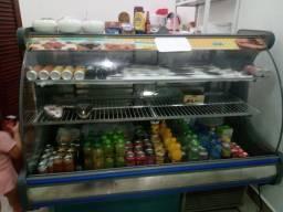 Vendo Balcão refrigerado e freezer vertical
