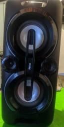 Caixa de som acústica Philco Portátil