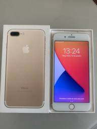 IPhone 7 Plus dourado 32gb