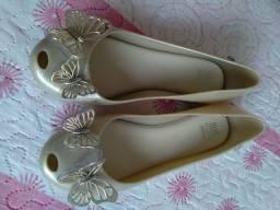 Sapato da melissa