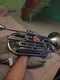 Trombonito Weril / trombone de marcha Sib