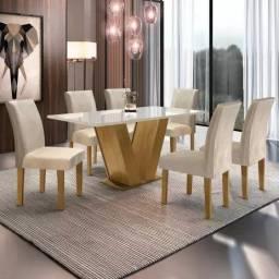 Mesa de Jantar Classic 6 Cadeiras YY5