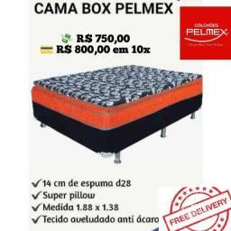 Cama  Casal  Pilow Pelmex Luxo