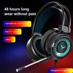 Headset Gamer RGB Novo