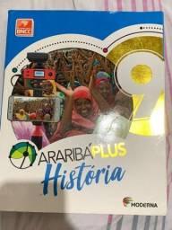 Título do anúncio: livro de história araibáplus moderna
