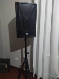 Caixa Acustiva Ativa Pz Audio Yac 12 A 400w Rms Profissional