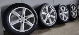 Vendo jogo de rodas 20 com pneus - Pajero Triton Mitsubishi 265/50 R20