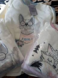 Pijama Fleece Tamanho P