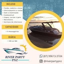 Aluguel de lancha! River Party!