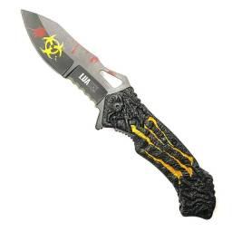 Canivete Tático semi-automático APOCALIPSE