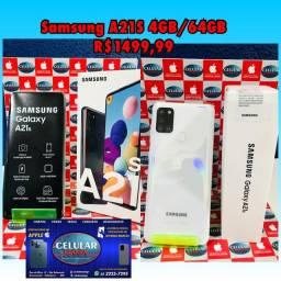 Samsung A21S 4GB/64GB Novo Com Nota Fiscal Garantia de 1 Ano