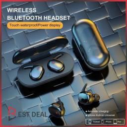 Y30 Mini Fone De Ouvido Sem Fio / 5.0 / Estéreo Binaural Para Esportes Ao Ar Livre