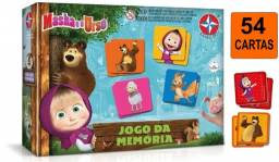 Jogo Da Memória  Educativo  Infantil  Masha E O Urso   Estrela