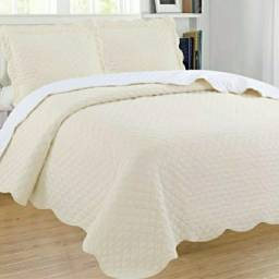 Lindas colchas  para cama box e cama Queen! Exelente qualidade!