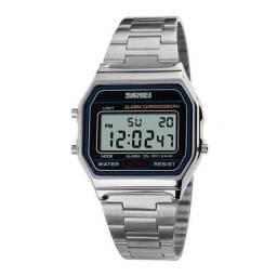 Relógio Caixa quadrada Original - 6 Meses de Garantia