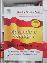 """""""Aprenda a Conjugar Verbos em Espanhol"""" de Sandra di Lullo Arias Impecável"""