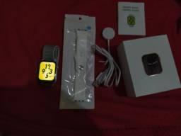 Smart watch IWO Séries 6 K8 (mais uma pulseira de brinde)
