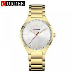 Relógio Dourado Original com 6 Meses de Garantia