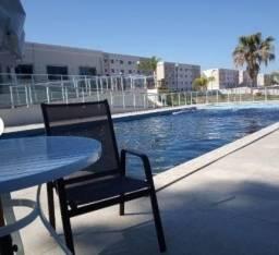 Apartamento com 2 dormitórios, Piscina e Sala de Jogos à venda, 48 m² por R$ 165.000 - Jar