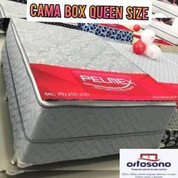 cama queen size - frete grátis hj 87