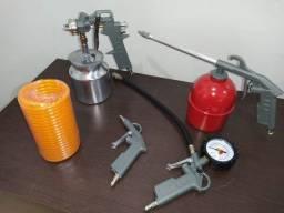 Kit Acessórios Para Compressor 5 Peças - Noll
