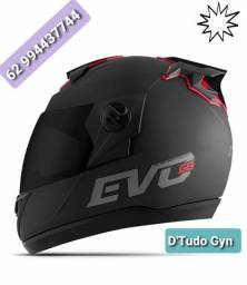 Capacete Moto Pro Tork Evolution G8 Evo Solid Viseira Fumê ( Novo )